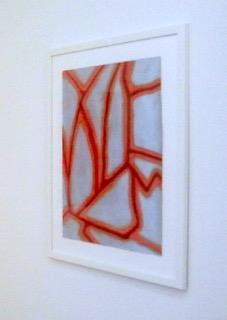 Emil Michael Klein, Acryl/Öl auf Papier, 2017, Ausstellungsansicht Museum im Bellpark