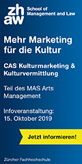 CAS Kulturmarketing und Kulturvermittlung | ZHAW School of Management and Law